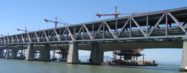 Safe2core concrete XRay Services, Bay Bridge project