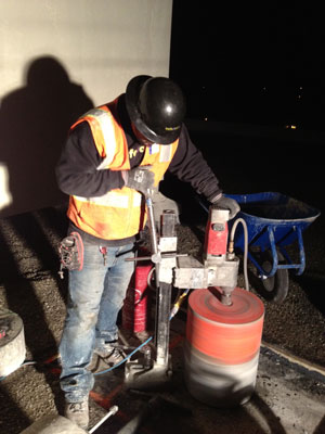 Concrete coring company in the bay area